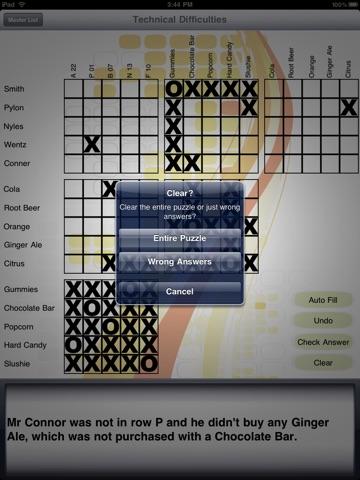 Logic Puzzles HD на iPad