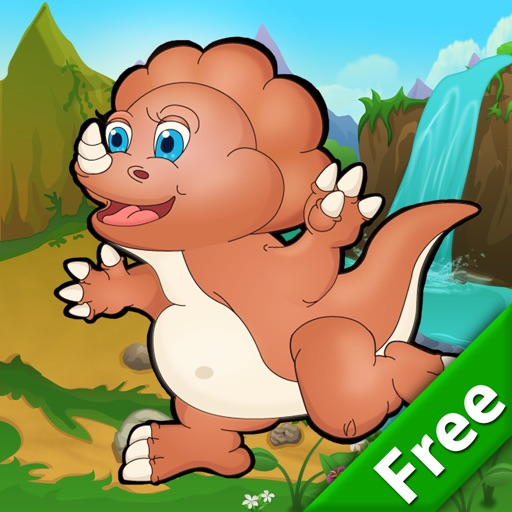 Jump Dino Jump Free - Dinosaur Jumping Game icon