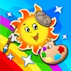 Abby Monkey® - Painter Star: Draw and Color - My First Coloring Book - iPadアプリ