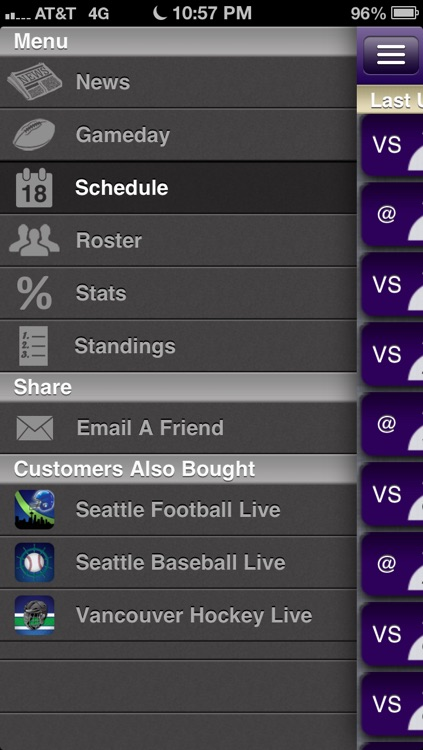 Washington College Football Live