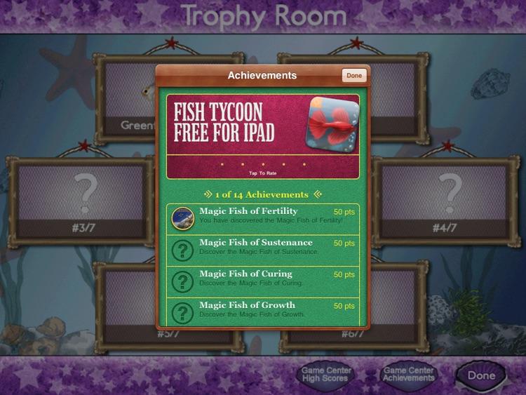 Fish Tycoon Free for iPad screenshot-4