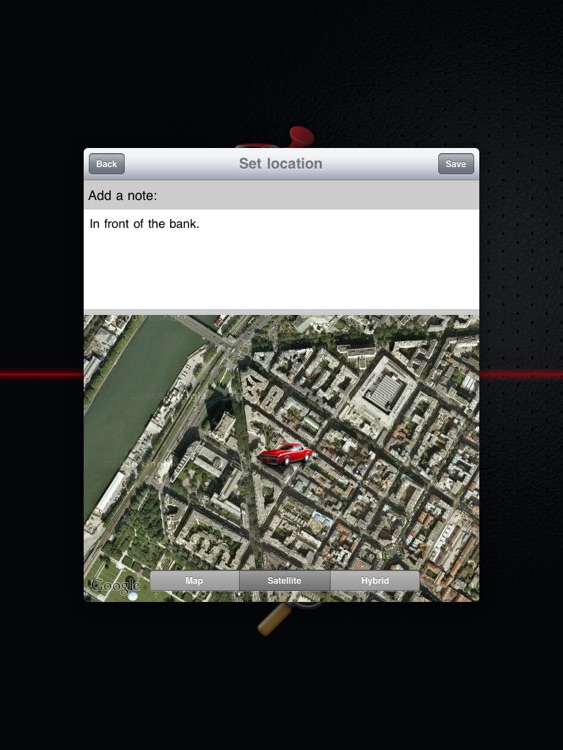 Find My Car for iPad