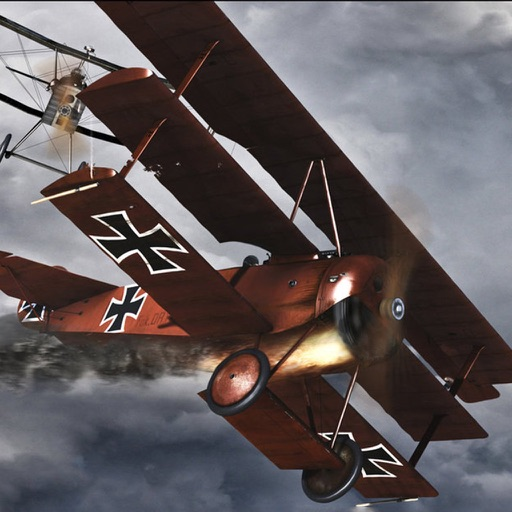 Biplane 3D - Take your WW1 biplane and strike the enemy!