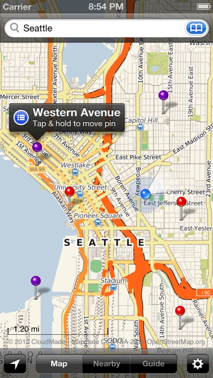 Smart Maps - Seattle