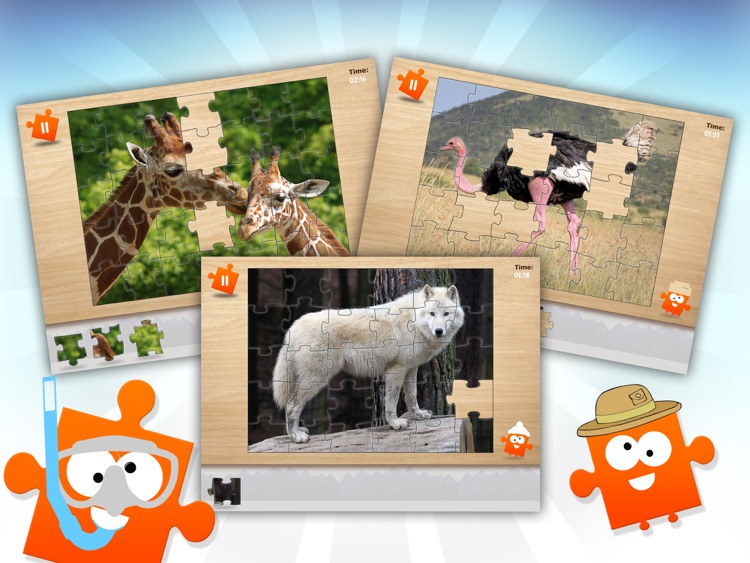JiGi's Jigsaw Animals