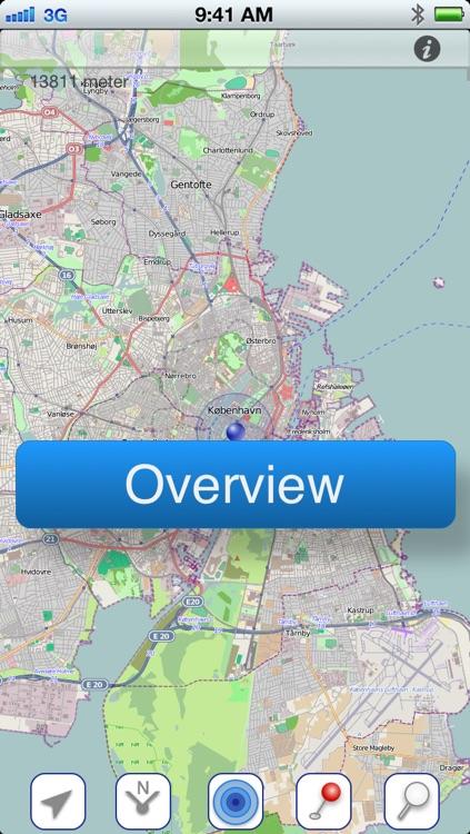 Copenhagen Offline Citymap screenshot-4