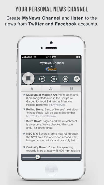 OneTuner Pro Radio Player for iPhone, iPad, iPod Touch - tunein to 65 genre stream! screenshot-3