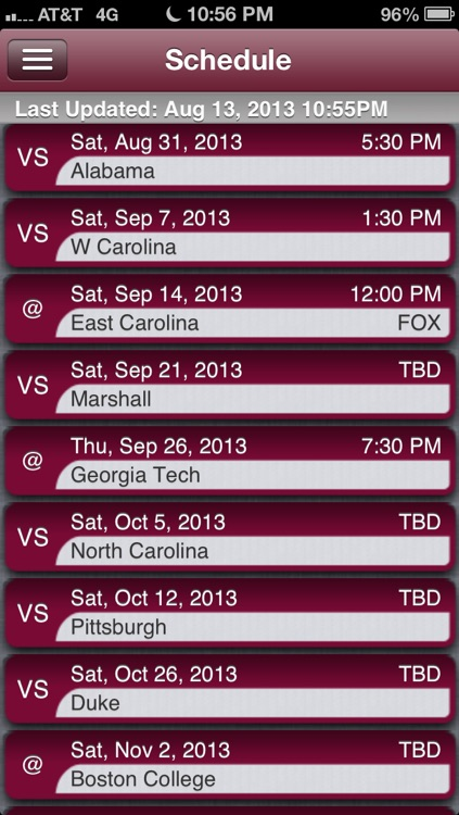 Virginia Tech Football Live screenshot-2