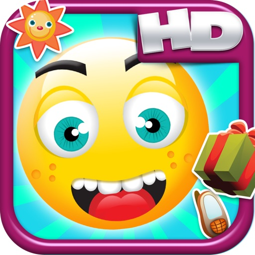 Happy Emoji Jump HD - A Super Jumping Edition FREE Game!