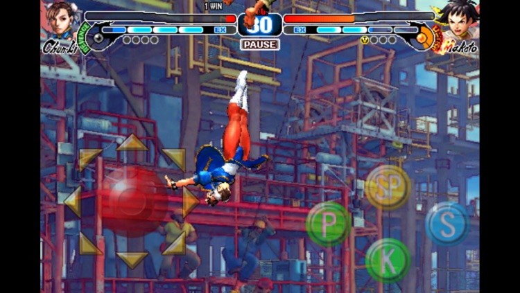 STREET FIGHTER IV VOLT screenshot-4
