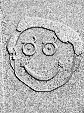 Tekening - allemaal in één foto effecten gekke koele beeld applicatie met Emojis en Emoticons iPad app afbeelding 4