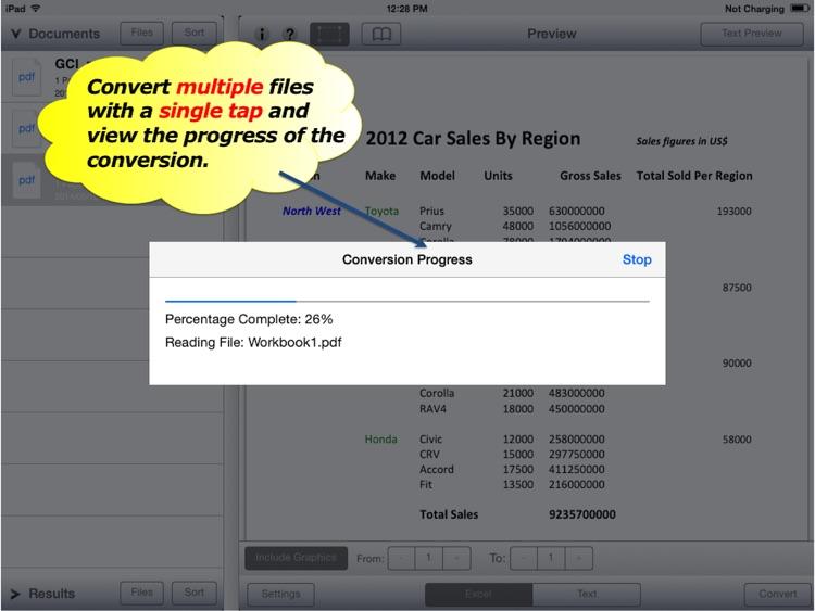PDF to Excel - PDF2Office 2017
