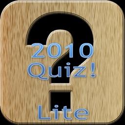 The Big Quiz Of 2010 Lite