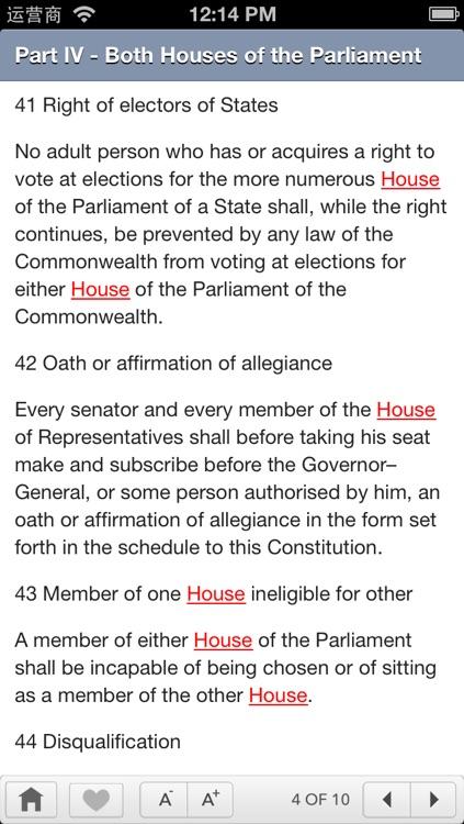 Australian Constitution screenshot-3