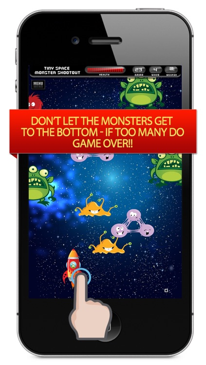 A Tiny Space Monster Shootout – Blast the Flying Invaders Before They Take Over Your Galaxy screenshot-3