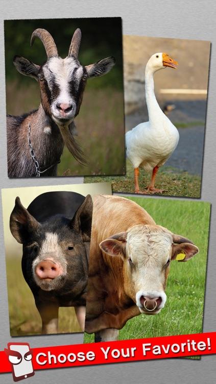 AngryFarm Free - The Angry Farm Animal Simulator screenshot-3