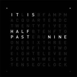 TIME IN WORDS - QLOCKTWO