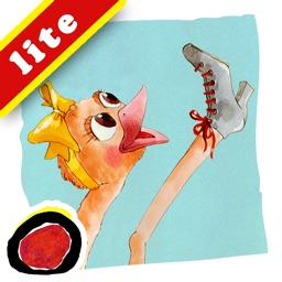 Since Lulu Learned the Cancan is a story for kids about a young ostrich, who kicks up a ruckus by practicing can-can, causing commotion and laughter wherever she goes; written by Orel Odinov Protopopescu (iPad Lite Version, by Auryn Apps)