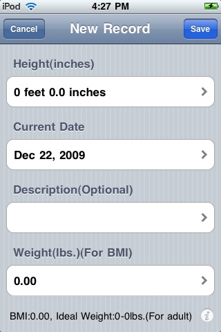 Height Log – Height Care, Height Tracker and Height Predictor screenshot-3