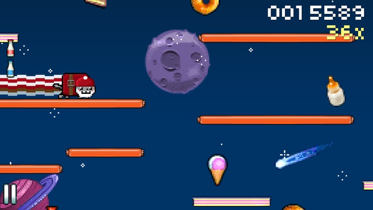 8bit Nyan Cat: Lost In Space screenshot-2