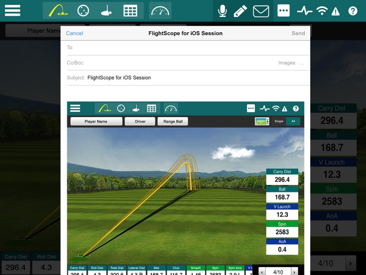 FlightScope Xi+ screenshot-4