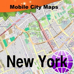 New York Street Map.