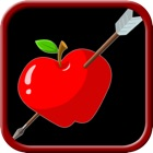 shoot the apple bow and arrow archery game icon