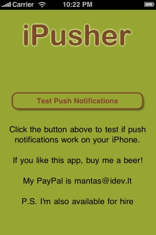iPusher