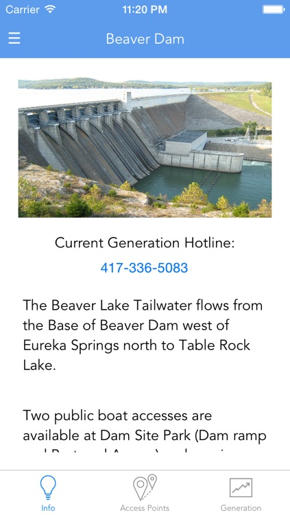 Tailwaters App
