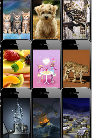 HD Wallpapers & Backgrounds for iPhone/iPod touch Pro Screenshot 1