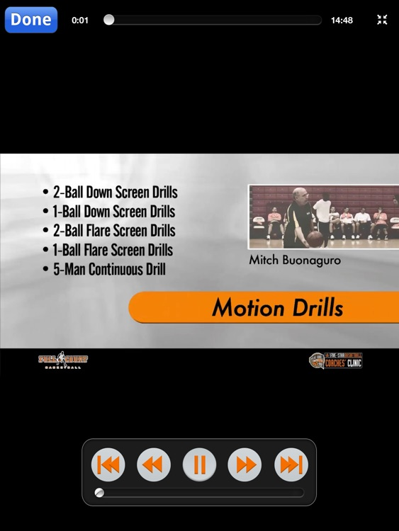 Offense: Transition, Motion & More - With Coach Mitch Buonaguro - Full Court Basketball Training Instruction - XL screenshot-3