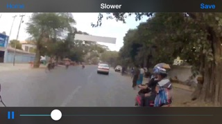 Slower Lite Screenshot on iOS