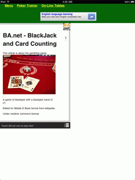 free 10-in-1 Casino Games for iPad - BA.net screenshot-3