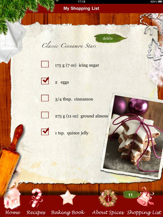 Christmas Cookies - Heavenly Holiday Recipes Made by Angels! screenshot-3