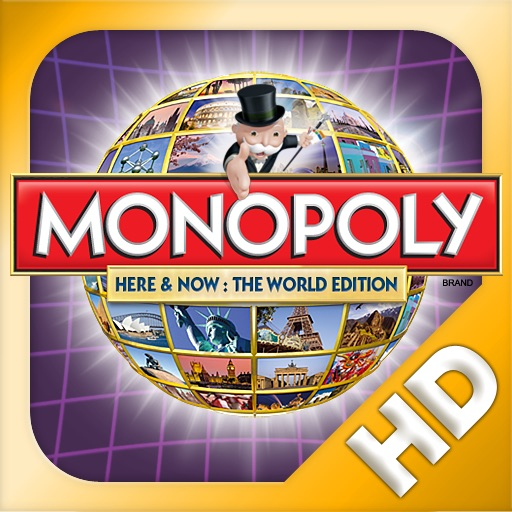 MONOPOLY HERE & NOW: The World Edition for iPad icon