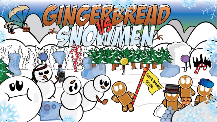 Gingerbread VS. Snowmen