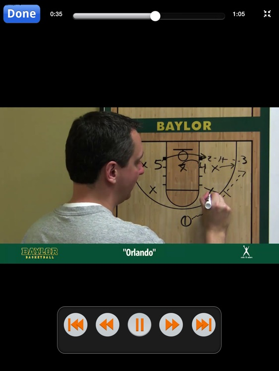 Baylor Bears Zone Quick Hitters: Scoring Plays Against Zone Defense - With Coach Scott Drew - Full Court Basketball Training Instruction - XL