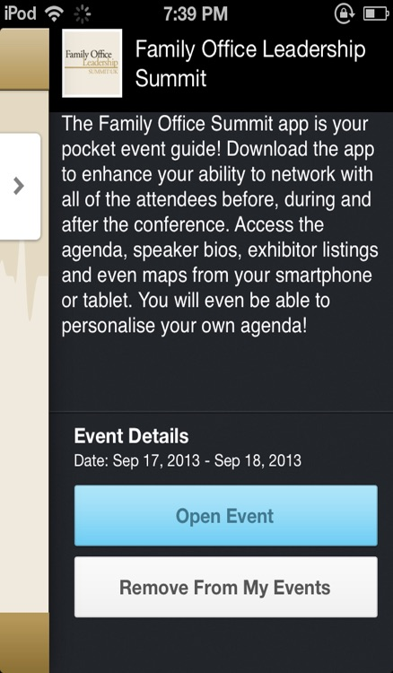 Family Office Summit by CrowdCompass, Inc