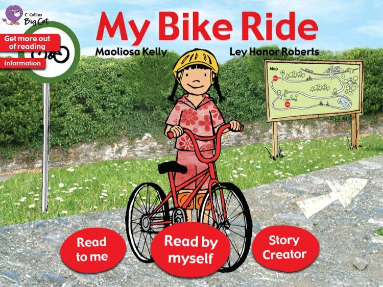 Collins Big Cat: My Bike Ride Story Creator