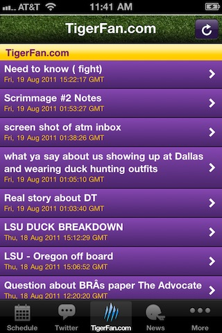 GeauxTigers!  LSU Football! screenshot-4