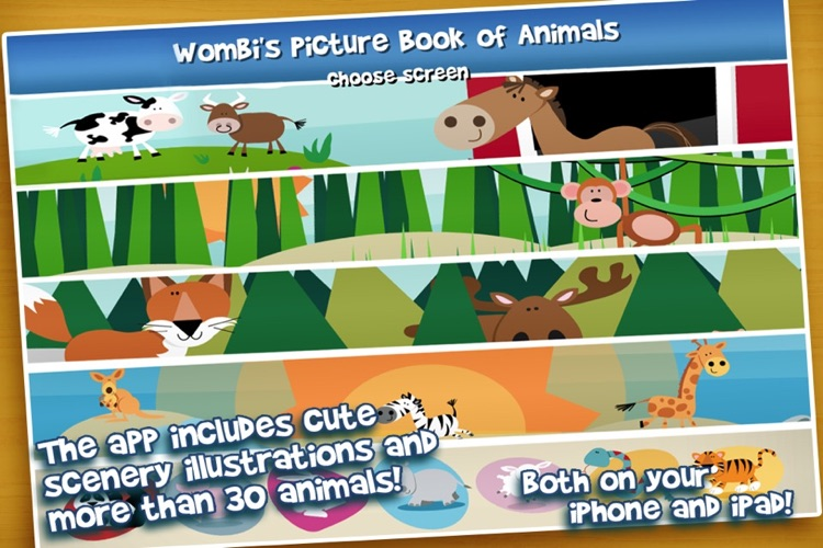 Picture Book of Animals - for kids and toddlers