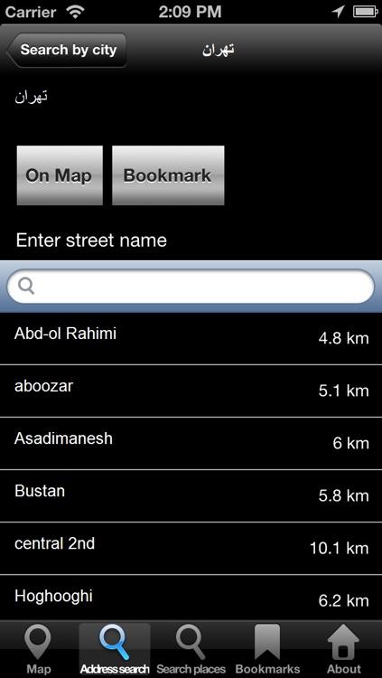 Offline Map Iran: City Navigator Maps screenshot-3