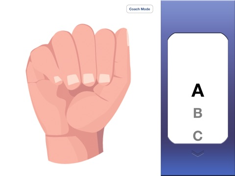ASL Coach  - 'American Sign Language' iPad
