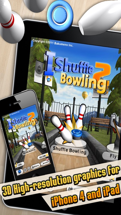 iShuffle Bowling 2 screenshot-0