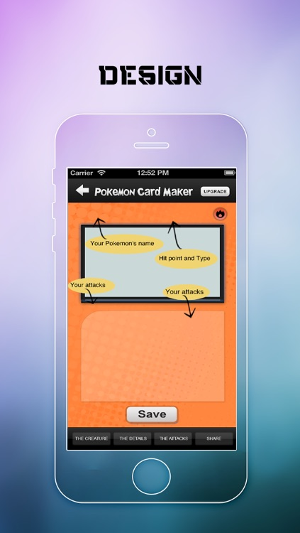 Card Maker & Creator for Pokemon screenshot-0
