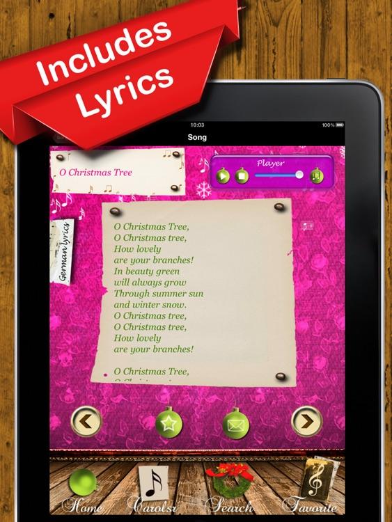 Christmas Carols - The Most Beautiful Christmas Songs to Hear and Sing Along screenshot-3