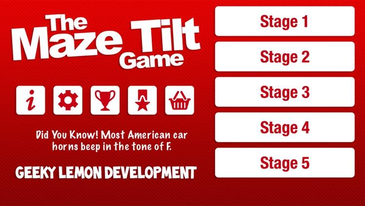 The Maze Tilt Game
