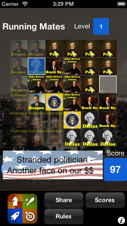 Running Mates - Presidents & Vice Presidents Game screenshot-3