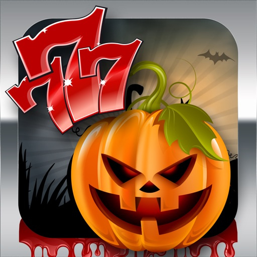 Acme Slots Machine 777 - Halloween Pumpkin Ticks or Traps Edition with Prize Wheel, Blackjack & Roulette Games