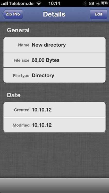 Zip Pro screenshot-4